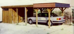 Flachdach carports for Streifenfundament carport